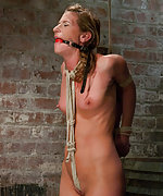 Roped, stripped, suspended and punished