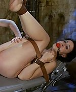 Dylan gets strapped, gagged and ass dildoed