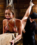 Unforgiving beam bondage and relentless real, hard orgasms