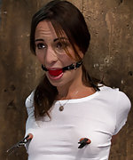 Girl next door is severely bound and gagged