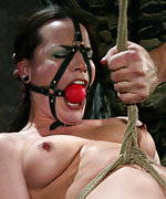 Intense pussy torture and body-wracking orgasm