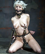Cuffed, clamped, humiliatingly trained, caned and dildoed